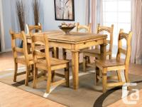 Santa Fe Strong Pine Table. Got it brand-new from