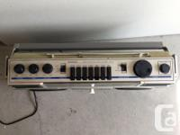 Vintage Sanyo M9927K ghetto blaster Bought this for my