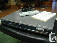 Product Information The Sanyo DRW-500 DVD player is not