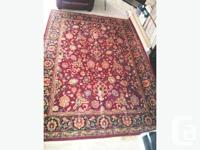 Sarouk Rug (C 1960s Old Vintage) $775.00 MOVED TO CONDO
