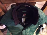 This is a new jacket - won at a Silent Auction. The