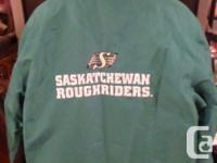 Saskatchewan Roughrider Winter Jacket size Small.