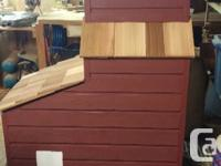Can be also used as a well head cover, dog house, yard