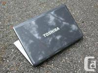This Toshiba laptop computer in outstanding disorder.