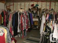 every Saturday: I have a $2 clothing Sale, all my