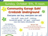 Moving Mountains for Children - Community Yard sale. @