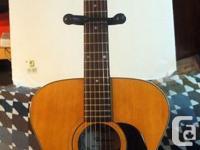 Saturn acoustic guitar, Model number 5705 Made in