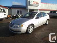 Make Saturn Model Ion Sedan Year 2005 Colour Silver