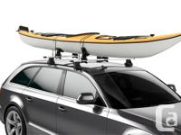 Awesome complete, heavy duty Roof Rack System by Thule