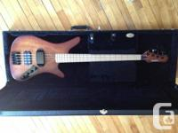 A killer bass gotten from Carvin. This version is not
