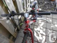 """Oversize MTB frame Front & rear """"V"""" Brakes Alloy Rims"""