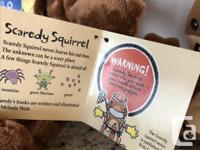 New Scaredy Squirrel puppet set - goes with the