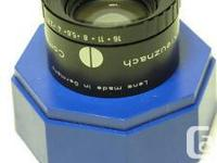 The Schneider Componon-S lenses are recognized
