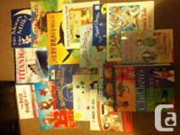 All carefully used clean scholastic books. Costing much