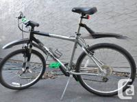 Schwinn Frontier bike for sale with green lights and