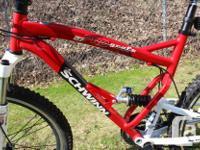 Schwinn Graft Pro 27 Full Suspension Mountain Bike with