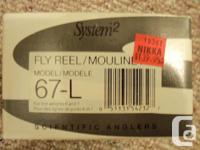 Scientific Anglers System 2 Fly Reel 67-L Brand New.