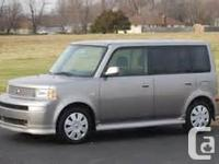 Make. Scion. Model. xB. Year. 2005. Colour. Silver.