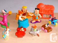 Toy great deals      Various Flintstones plaything