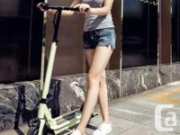 Great Gift :) Motor 350W Distance 35KM Weight 13kg