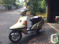 . I currently have the following scooters: 1987 Yamaha