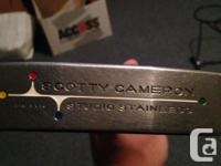 Up for sale is a scotty cameron studio stainless big