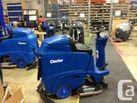 Get a new Clarke Boost CR28 Rider Floor Scrubber on