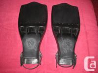 SCUBAPRO JET FINS,L TO XL THESE FINS ARE IN GREAT SHAPE