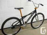 Bmx done up as a cruiser 26 inch SE Quadrangle frame