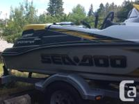 This 2007 sport boat has only 17 hours in, has only