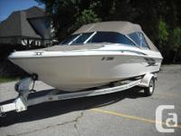 This 2000 Sea Ray 180 Bow Rider features a great