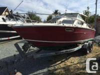 Sea Ray 22 foot SRV Hard top, Cuddy cabin 302 Merc