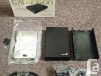 I've got TWO Seagate external drive enclosures that are