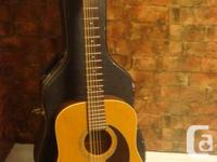 Seagull 12-string guitar. Good condithion, amazing