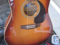 Stunning Seagull with under saddle pick-up. Spruce top,