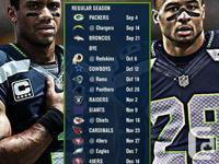 Seattle Seahawks tickets for sale.  I am a season