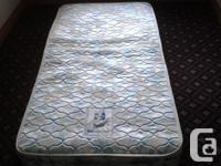 SEALY SINGLE MATTRESS/VERY GOOD BRAND/COMES FROM A NONE