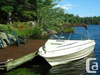 Boat Description 1985 Searay Seville Cuddy Cabin White