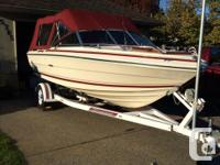 19 foot SeaRay ,like new, 5.7 engine, OMC out drive,