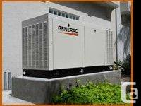 Want to install residential generator, call at 1(877)