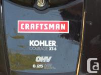 "For sale. Sears Craftsman 21"" gas lawn mower. Kohler"