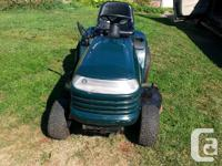 i have for sale 21 hp sears craftsman tractor lawnmower