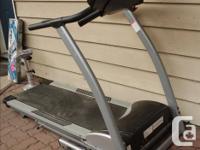Sears Free Spirit treadmill. Large running surface.