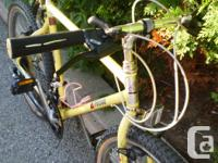 Sears Probe 19 inch 18-speed a good chromoly frame, in