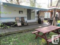 This roomy family trailer is on a Seasonal Site at