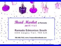 BEAD Market at Ramada. Jan 17, 11 to 5. Ramada Edmonton