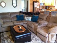 I am selling my sectional couch. The color is a nice