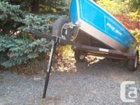 These drift boat trailer stands are created in Bend,