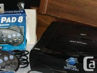 Sega Saturn model 1 console system  working console,