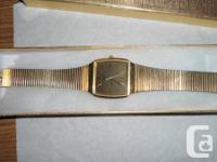 This is an elegant gentleman's watch. Watch is in used